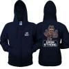 Lovely Grow Strong Hoodie Guardians of the Galaxy 2 Zipper Sweatshirt