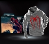 Marvel Superhero Spiderman Pullover Hoodies for Man