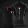 Naruto Men'S Cotton Polo Shirts black xxl mens polo