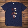 One Punchman and deadpool T-shirt