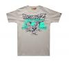 Quality Dragon Ball Z T-shirt DBZ Grey XXXL Tees for Men Boy