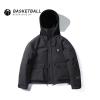 Winter Black Kobe Bryant Zip Coat NBA Mamba Thick Hooded Tops