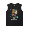 Guardians of the Galaxy Sleeveless Tshirt Men Marvel Groot Tees