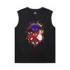 Spider-Man:Homecoming Tshirts Marvel Spiderman Full Sleeveless T Shirt