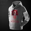 World of Warcraft Horde Logo Hoodie WOW Game Sweatshirt