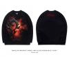 World of warcraft Horde Logo T-shirt Long Sleeve WOW Tee