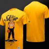 Yellow Trunks Tee Shirt Dragon Ball NBA Style 3XL T-shirt
