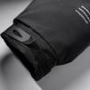 Winter Black Kobe Bryant Zip Coat NBA Mamba Thick Jacket