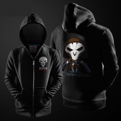 Blizzard Overwatch Reaper Cartoon Hoodie For Men Boy
