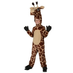 Child Giraffe Costume Animal Cosplay