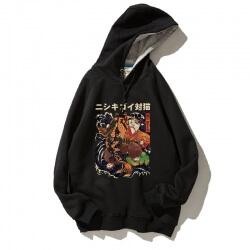 Fashion Japanese Style Hooded Sweatshirt Men xxxl Red Hoodie