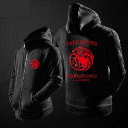 House Targaryen Hoodie three-headed dragon