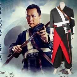 Movie Rogue One Star Wars Story Chirrut Imwe Cosplay Costume
