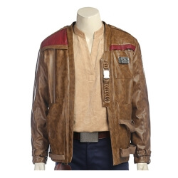 Men Star Wars 8 Cosplay Costume Finn Cosplay Jacket Men...