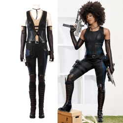 Deadpool 2 Domino Costume Women Neena Thurman Cosplay