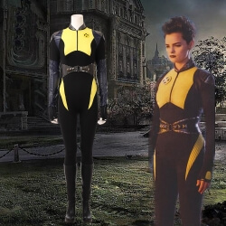 Deadpool 2 Negasonic Teenage Warhead Cosplay Costume Halloween Ellie Phimister Jumpsuit