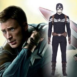 Avengers Endgame Captain America Cosplay Costume