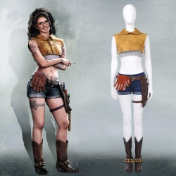 Devil May Cry Dmc 5 Nico Cosplay Costume