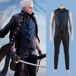 DMC 5 Vergil Cosplay Costume Devil May Cry Jacket