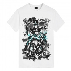 DOTA 2 Ink Phantom Assassin T-Shirts Cool Kids T Shirts