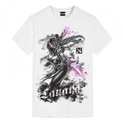Ink Temple Assassin T-Shirt DOTA 2 Heroes Kids T Shirts