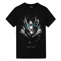 Blizzard DOTA 2 Dark Phantom Assassin Black Shirts