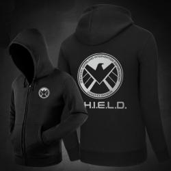 <p>Agents Of Shield Hoodies Movie Black hooded sweatshirt</p>