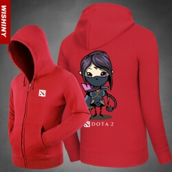 <p>Templar Assassin Hoodie Blizzard DOTA 2 Hero Hooded Coat</p>