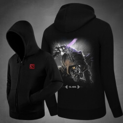 <p>Slark Hoodie Blizzard DOTA 2 Hero Hooded Jacket</p>
