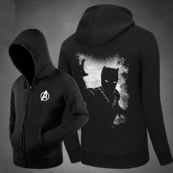<p>Movie Black Panther hooded sweatshirt Cotton Sweatshirt</p>