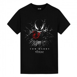 Venom Spiderman T-Shirts Marvel White T Shirt