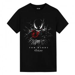 Venom Spiderman T-Shirts Marvel White T Shirt