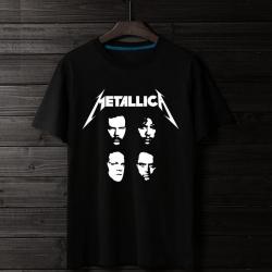 <p>Metal band Cotton Tshirt Rock Metallica T-shirt</p>