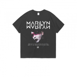 <p>Best Tshirt Rock Marilyn Manson T-shirt</p>