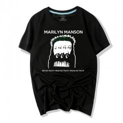 <p>Rock Marilyn Manson Tee Cotton T-Shirt</p>