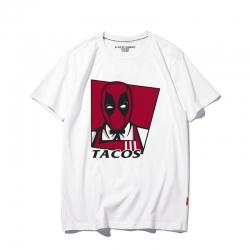 <p>Superhero Deadpool Tees Quality T-Shirt</p>
