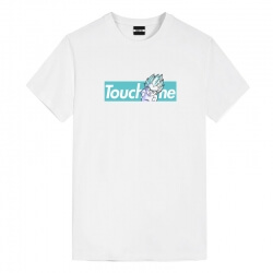 Dragon Ball Dbz Goku Touch Me Tees Cheap Anime T Shirts