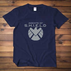 <p>Agents Of Shield Tee The Avengers Cotton T-Shirts</p>