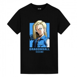 Dragon Ball Z Android 18 Shirts Cool Anime T Shirts