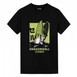 Dragon Ball DB Cell Tees Vintage Anime Tees