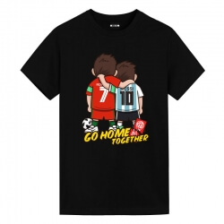 Messi and Ronaldo Go home together Tee