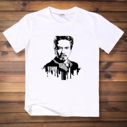 <p>Iron Man Tee Marvel Cotton T-Shirts</p>