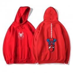 <p>Marvel Superhero Spiderman Sweatshirts Quality Hoodie</p>