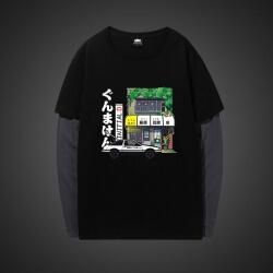 Fujiwara Tofu Shop Long Sleeve Shirts
