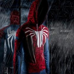 <p>Marvel Superhero Spiderman Hoodies Personalised Coat</p>