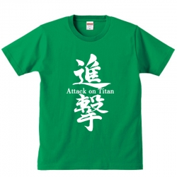 <p>Personalised Shirts Attack on Titan T-Shirts</p>