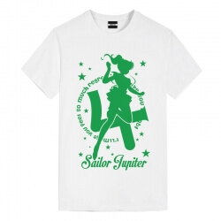 Sailor Moon Jupiter Tees Anime Tee Shirts