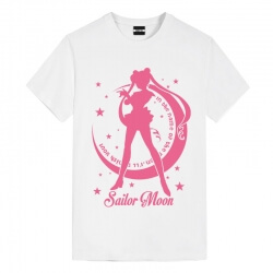 Water ice moon Tee Sailor Moon Anime Girl T Shirt
