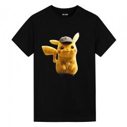 Pokemon Detective Pikachu Tees Anime White Shirt