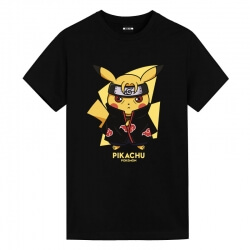 Pokemon Uchiha Itachi Pikachu Tshirt Anime Clothes For Men